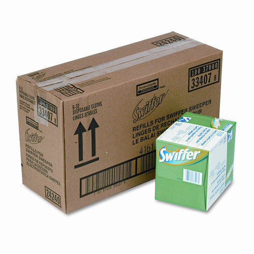 SWIFFER Dry Refill System, 32/Box, 6/Carton