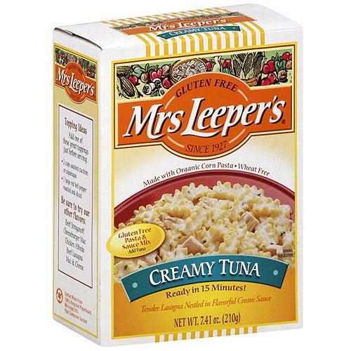 Mrs. Leeper's Creamy Tuna Pasta & Sauce Mix, 7.41 oz (Pack of 6)