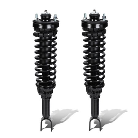 2000 Sprint Lowering Springs (For 1996 to 2000 Honda Civic Left / Right Rear Fully Assembled Shock / Strut + Coil Spring)
