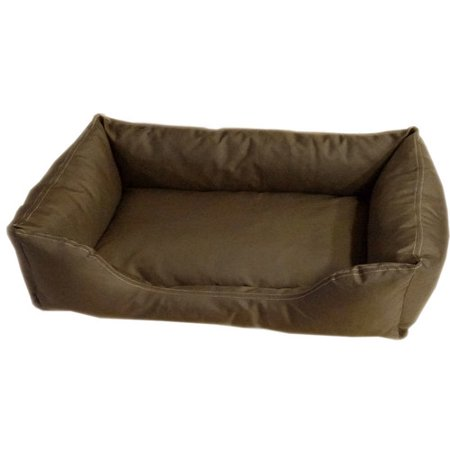 Carolina Pet Company Brutus Tuff Kuddle Lounge Bolster Dog Bed