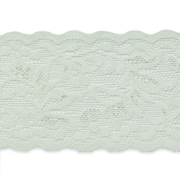 """Expo Int'l 5 yards of Apalonia Macy Floral Stretch Lace Trim 2 1/6"""""""
