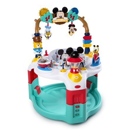 Disney Baby Mickey Mouse Activity Saucer - Camping with Friends (Halloween Activities For Toddlers In Chicago)