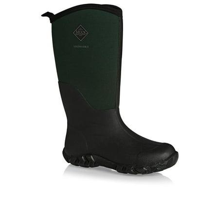 f3382ef1557 Muck Boots Edgewater II Multi-Purpose Waterproof Boots Green/Black (13.0M  Men's)