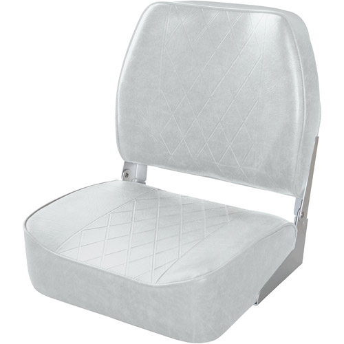 Wise Diamond Pattern Mid Back Boat Seat