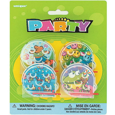 Bagatelle Ball Game Party Favors, 4ct