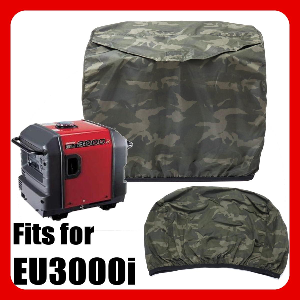 Camo Green Generator Cover Protect For Honda EU3000i EU3000 340x562x475mm by
