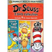 Dr. Seuss 3-DVD Collection: Green Eggs And Ham   The Lorax   The Cat In The Hat (Full Frame) by