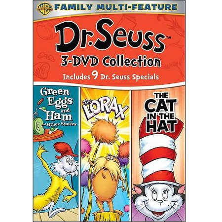 Dr. Seuss 3-DVD Collection: Green Eggs And Ham / The Lorax / The Cat In The Hat (Full Frame)