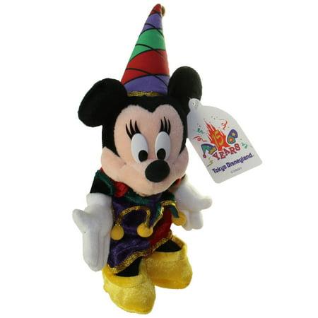 Disney Bean Bag Plush - JESTER MINNIE (Tokyo Disneyland) (Mickey Mouse) (12 inch) (Mickey Minnie)