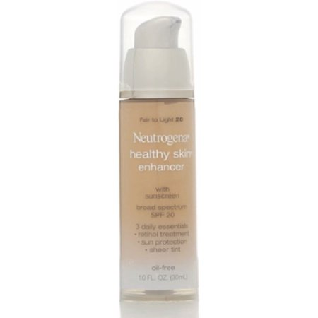 Neutrogena Healthy Skin Enhancer Tinted Moisturizer, Fair to Light [20], 1