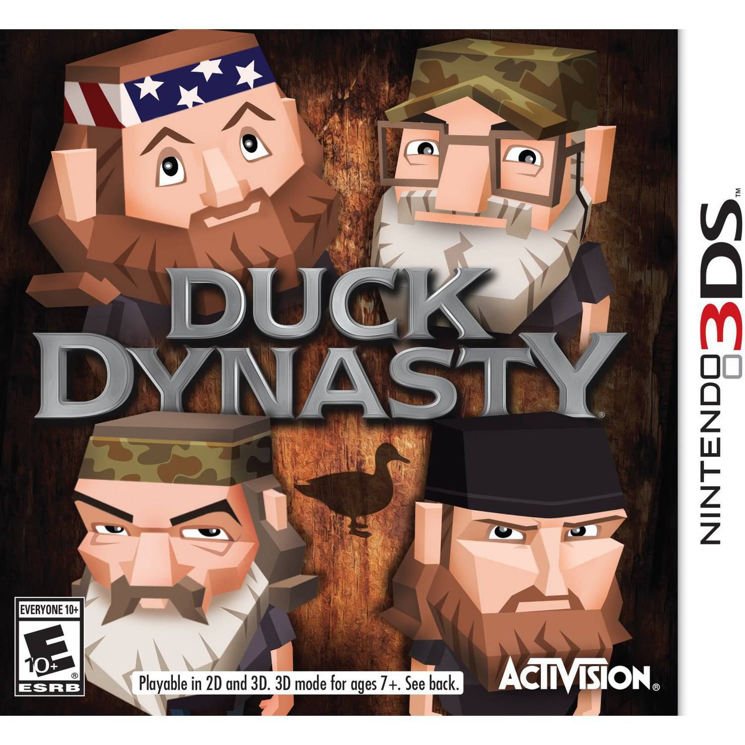 Duck Dynasty, Activision, Nintendo 3DS, 047875770355