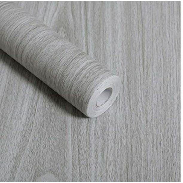 Walldecor1 Gray Wood Grain Contact Paper Self Adhesive Shelf Liner Drawer Self Adhesive Shelf Liner Kitchen Cabinets Shelves Door Sticker 17 7 Inch By 78 Inch Walmart Com Walmart Com