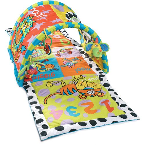 Playgro Zany Zoo Tunnel Gym