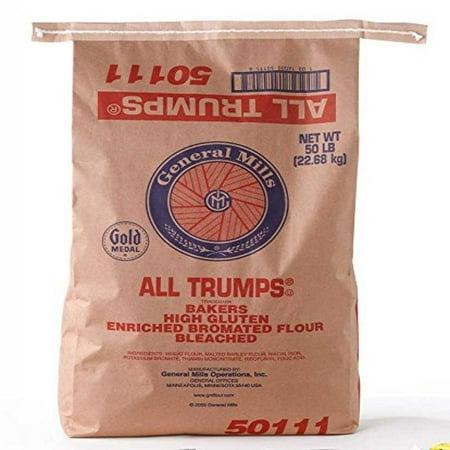 General Mills Gold Medal All Trumps High Gluten Flour, 50
