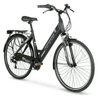 Hyper E-Ride Electric Bike With 36 Volt Battery & 700C Wheels (Black)