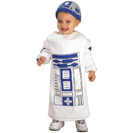 Star Wars R2D2 Toddler Halloween Costume, Size 1-2 Years Old - How Tall Is R2d2