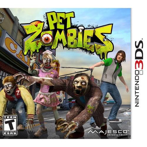 Pet Zombies in 3D (Nintendo 3DS)