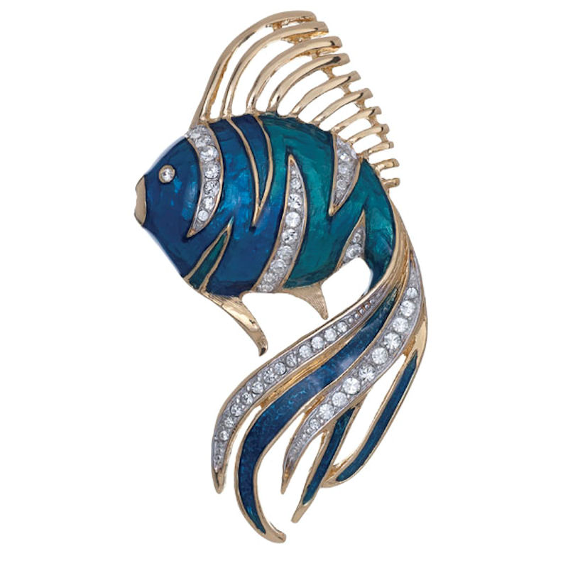 Annaleece SEA0013 Pisces Brooch by Annaleece