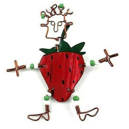 Creative Alternatives Dancing Girl Strawberry Pin (Best Surface Pen Alternatives)