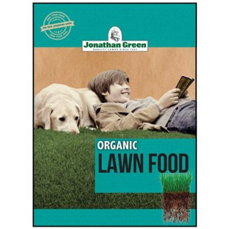 Jonathan Green & Sons 246930 5000 sq. ft. Coverage 10-0-1 Organic Lawn Food - image 1 of 1