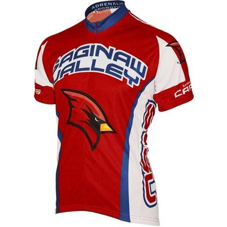 NCAA Men's Adrenaline Promotions Saginaw Valley State Cardinals Road Cycling Jersey - (Saginaw Stores)