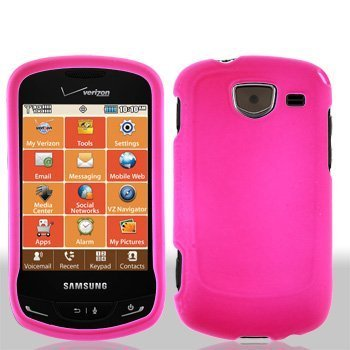 Pink Rubberized Hard Faceplate Cover Phone Case for Samsung Brightside U380Provides ultimate protection from scratches and its perfect mold keeps the phone trim and.., By Generic Samsung Cell Phone Faceplates