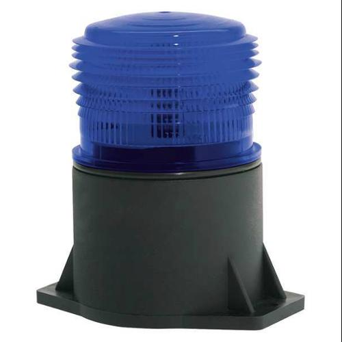 JW SPEAKER 539 Strobe Light,LED,Blue,Flange Mount G0095378