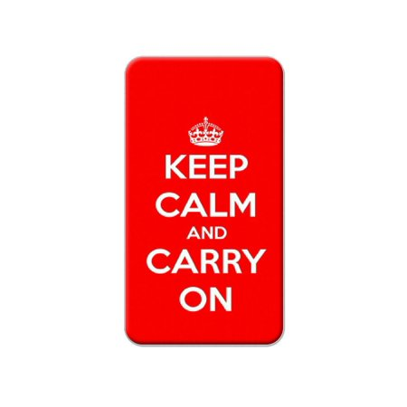 (Keep Calm and Carry On Red Lapel Hat Pin Tie Tack)