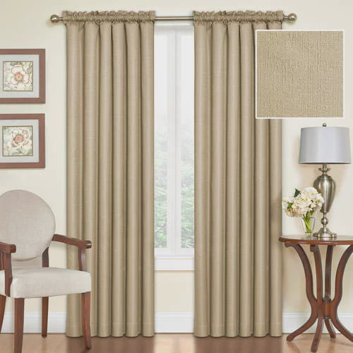 Click here to buy Eclipse Samara Blackout Energy-Efficient Thermal Curtain Panel by Ellery Holdings LLC.