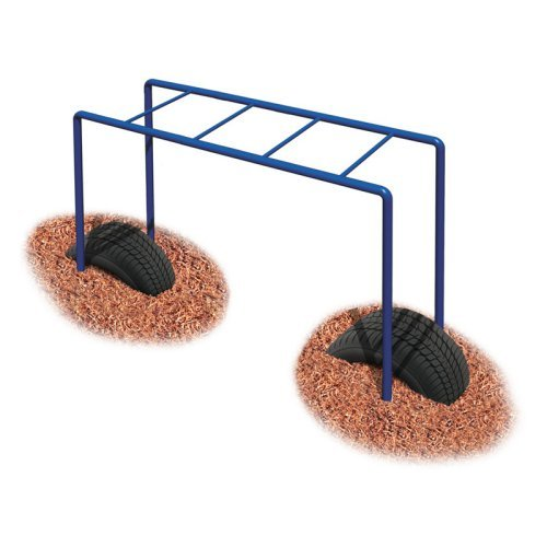Ultra Play Jr. Horizontal Ladder with Optional Tire Boost Package