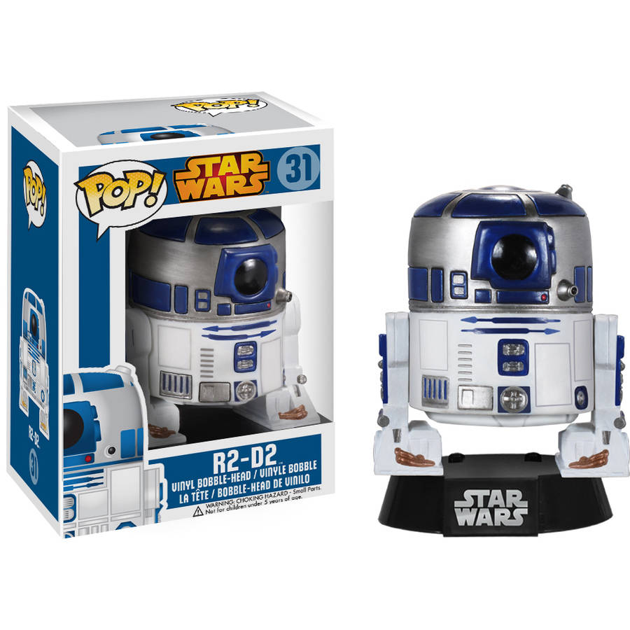 Funko Pop! Lucas Films Star Wars R2-D2 Vinyl Bobble Head
