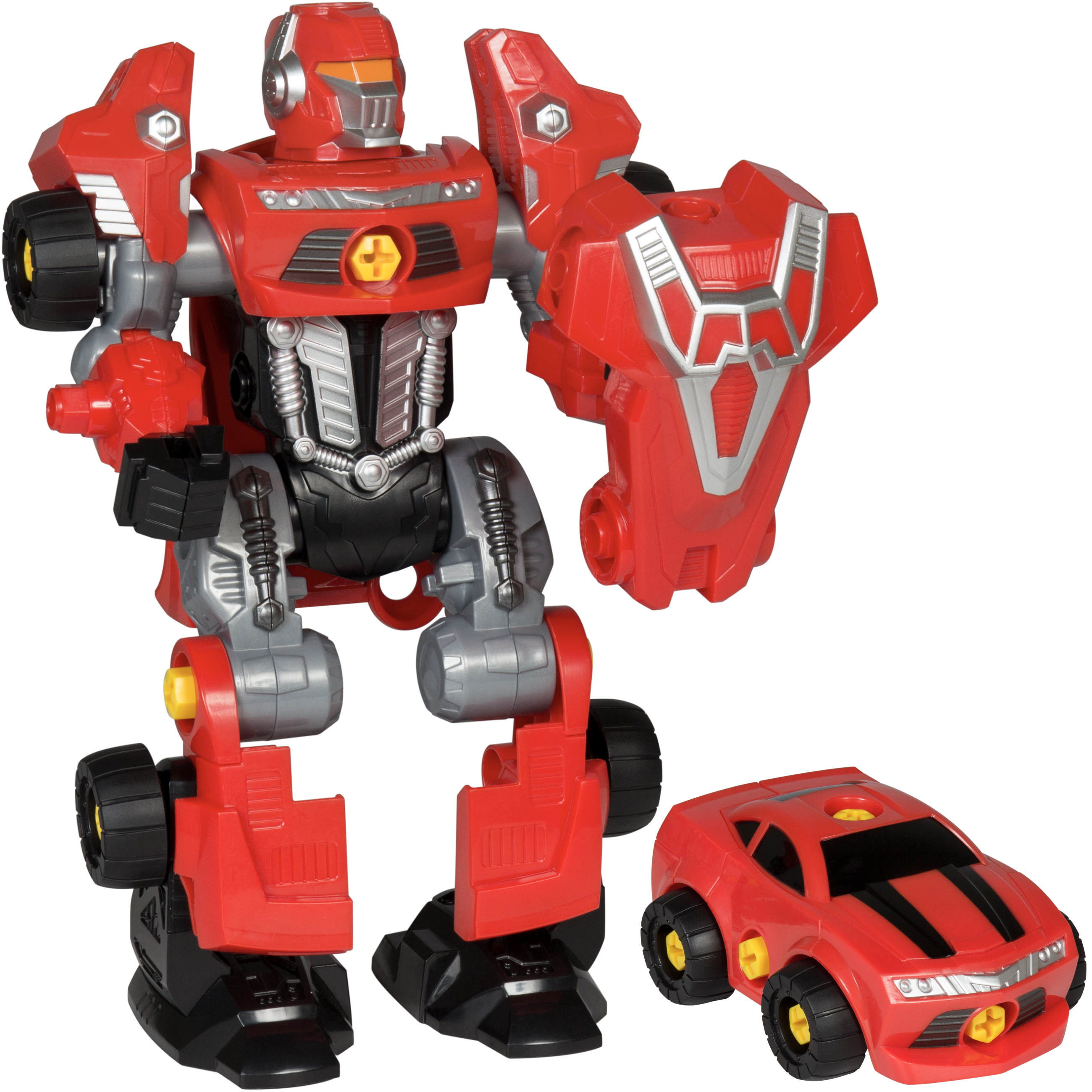 Best Choice Products Kids Assembly Take-A-Part Toy Transformer Robot Play Set W  Toy... by Best Choice Products