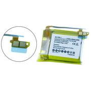 Samsung SM-R381 Smartwatch Battery (Li-Pol, 3.7V, 250mAh) Replacement for Samsung SM-R380 Smartwatch Battery