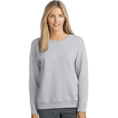- Hanes ComfortSoft™ EcoSmart® Women's Crewneck Sweatshirt - O4633