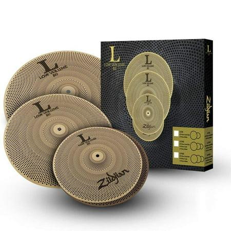 - Zildjian L80 Low Volume 14/16/18 Cymbal Set
