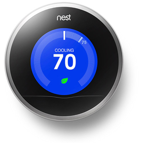 Refurbished Nest T200577 Learning Thermostat - 2nd Generation