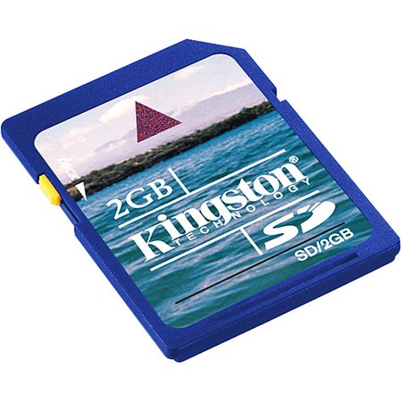 Kingston 2 GB SD Flash Memory Card