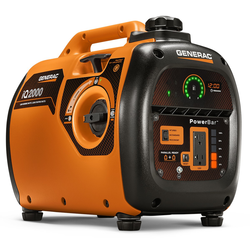 Factory-Reconditioned Generac 6866R iQ2000 Inverter Portable Generator (Refurbished)