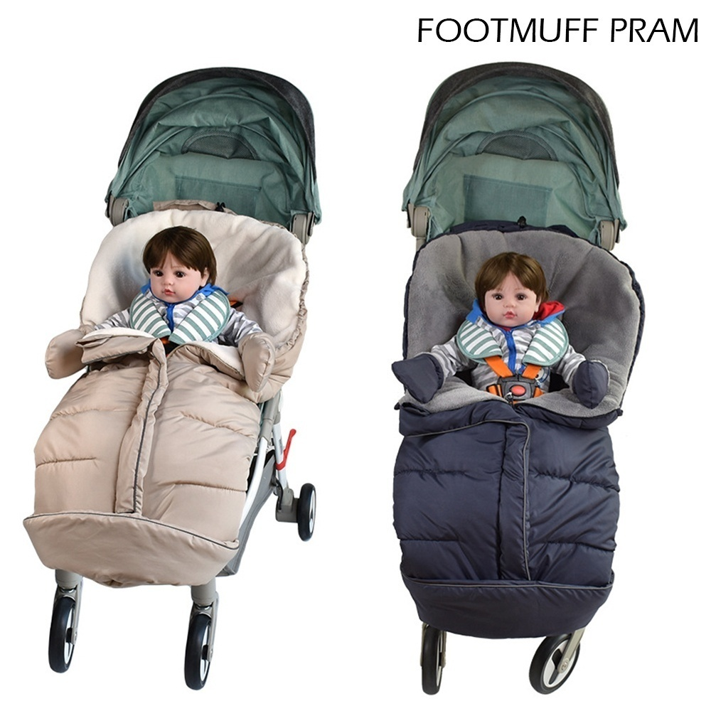 Universal fit thermo winter footmuff pram child baby car seat cosy toes new