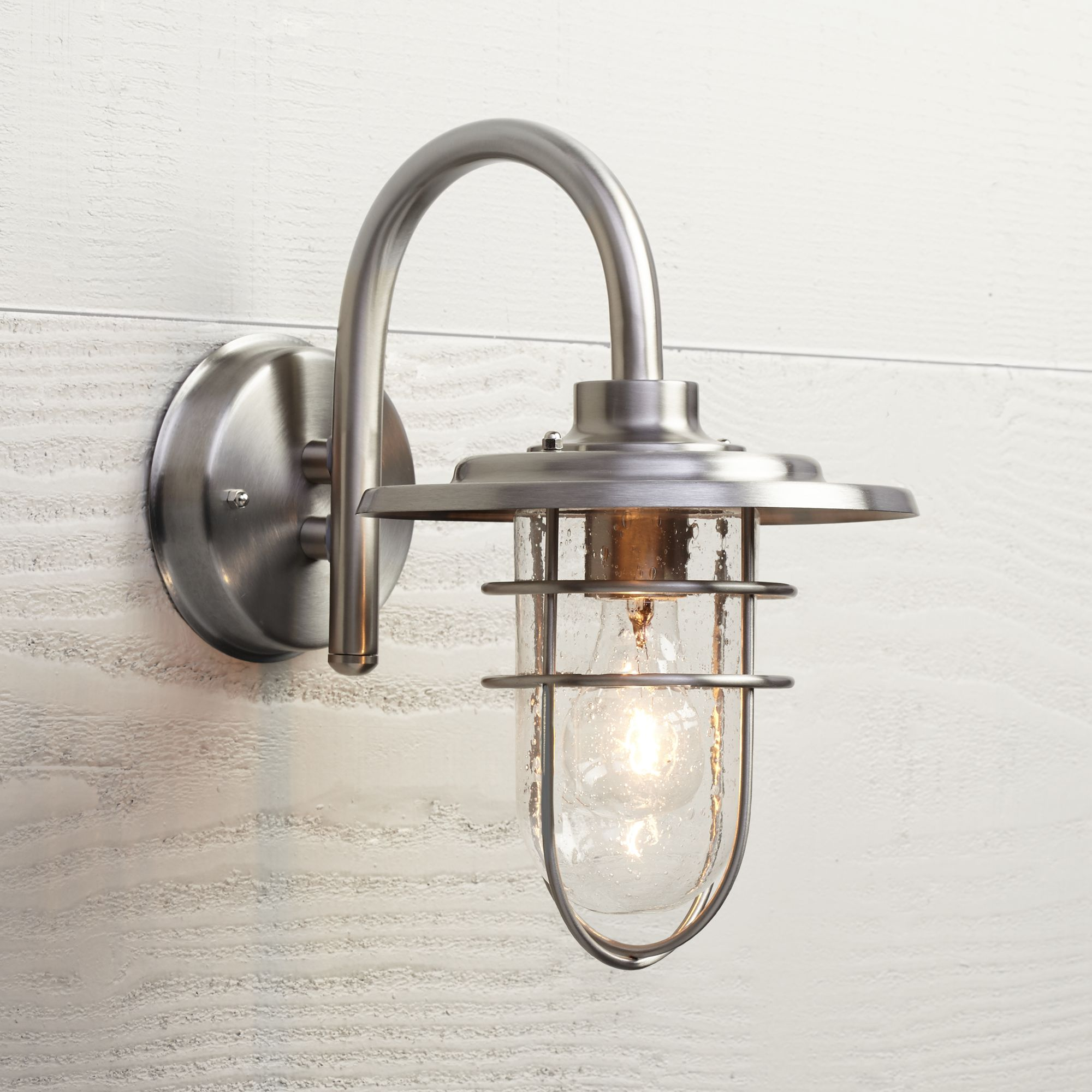 Stratus Collection 12 3/4 High Indoor - Outdoor Wall Sconce