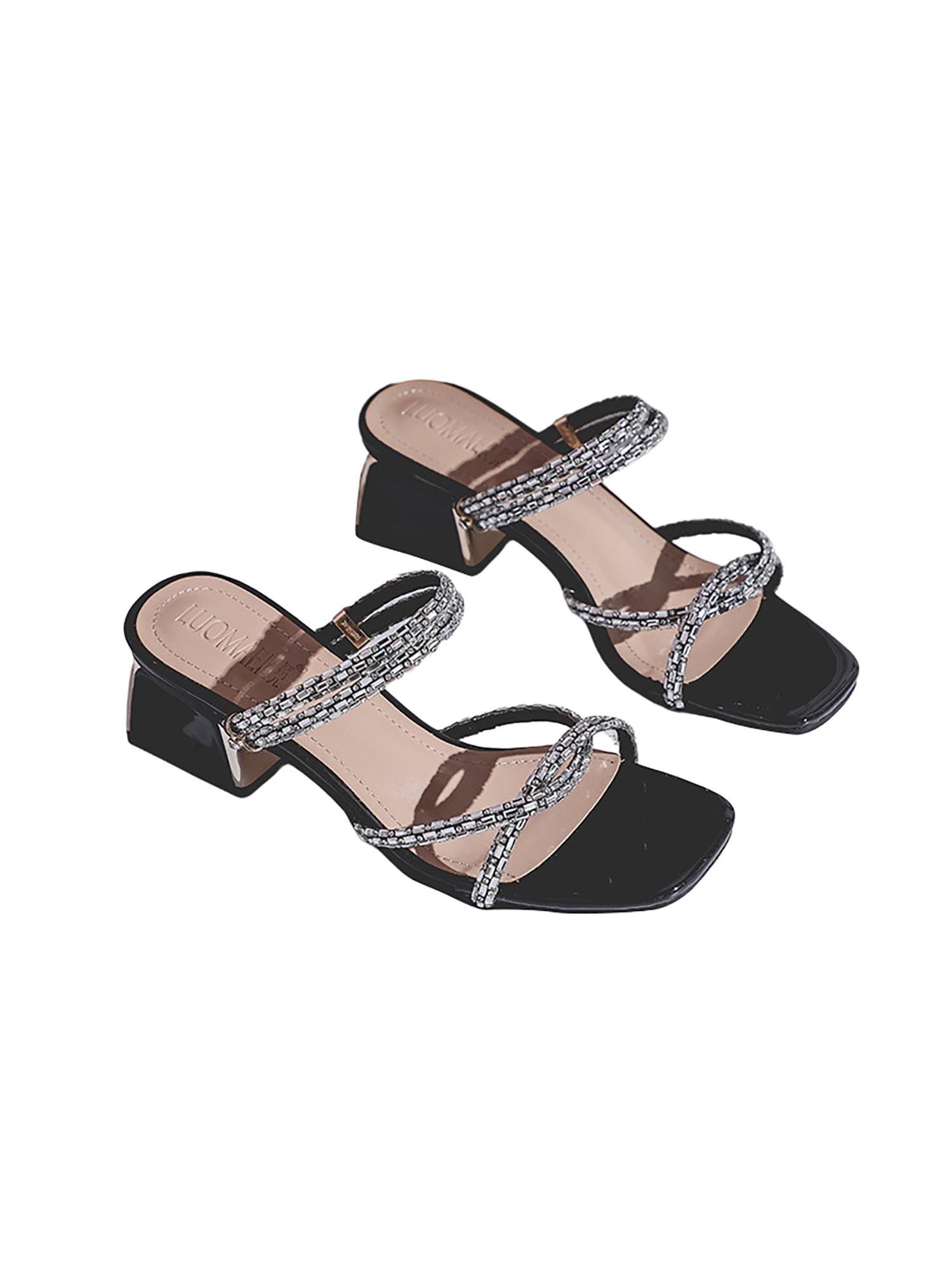 Details about  /Sexy Women/'s Peep Toe Stilettos High Heel Slipper Nightclub Sandals Backless B