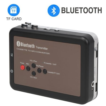 DIGITNOW Cassette Player-Portable Digital Bluetooth Tape Cassette Player-Cassette to Mp3 Converter for Walkman Cassette Audio Music- Cassette Recorder with (Best Cassette Tapes For Recording)