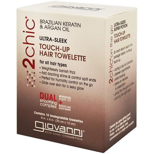 Giovanni Giovanni D:tox System Cleansing Towelettes, 10 ea