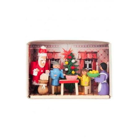 Image of Alexander Taron 028-159 Dregeno Matchbox - Family with Santa Claus