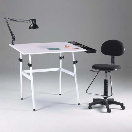Martin Universal Berkeley 4-pc Classic Combo Drafting Table
