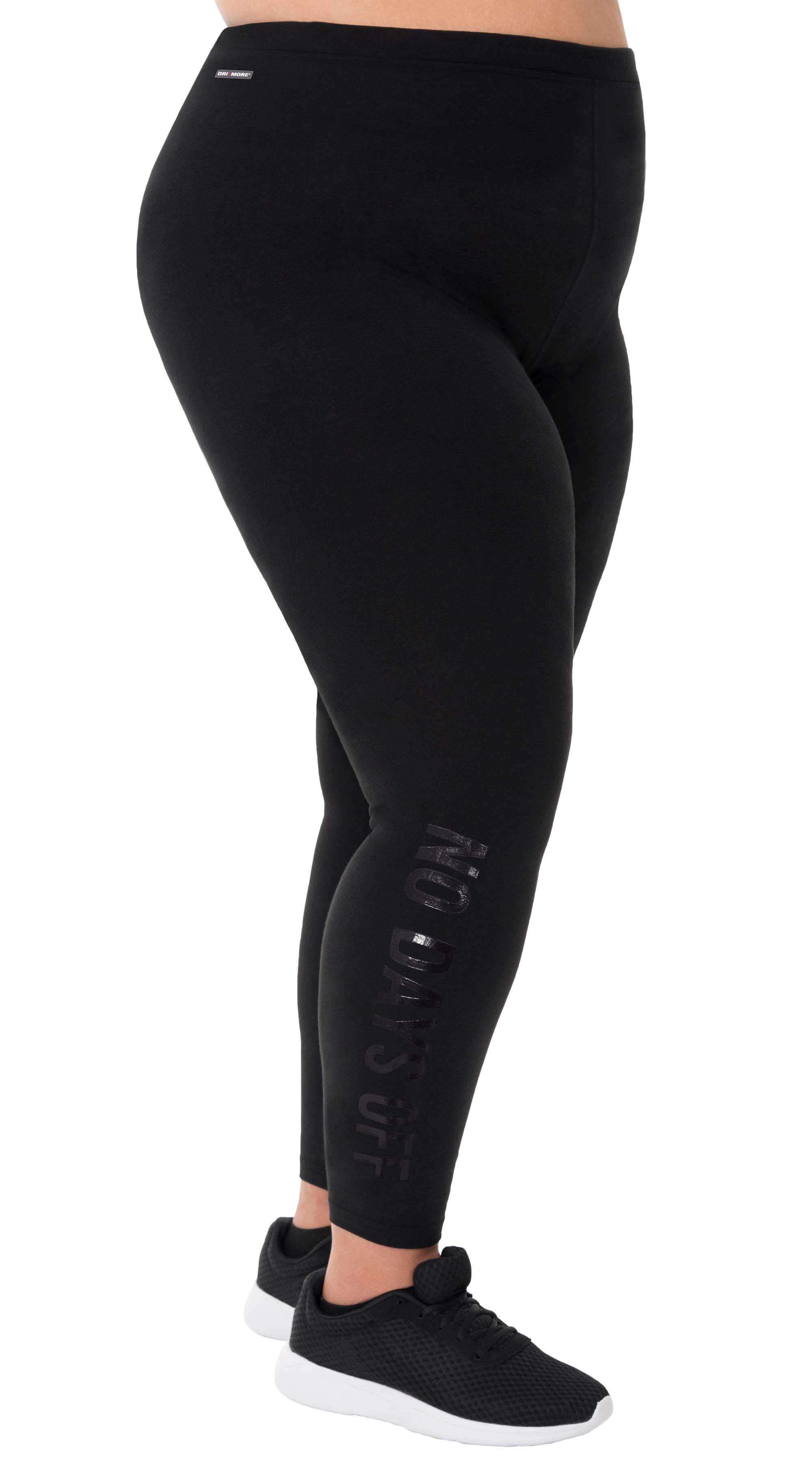 cf796ec6146eb5 Danskin Now Women's Plus Active Graphic Legging No Days Off Black ... danskin  plus