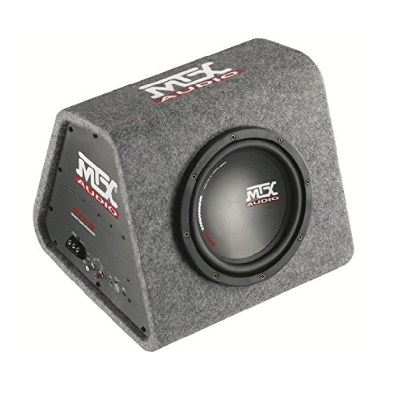 MTX AUDIO RTP8A 8 120W Car Loaded Subwoofer Enclosure Amplified Box Vented
