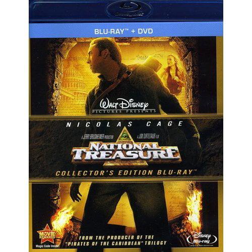 National Treasure (Blu-ray + DVD) (Widescreen)
