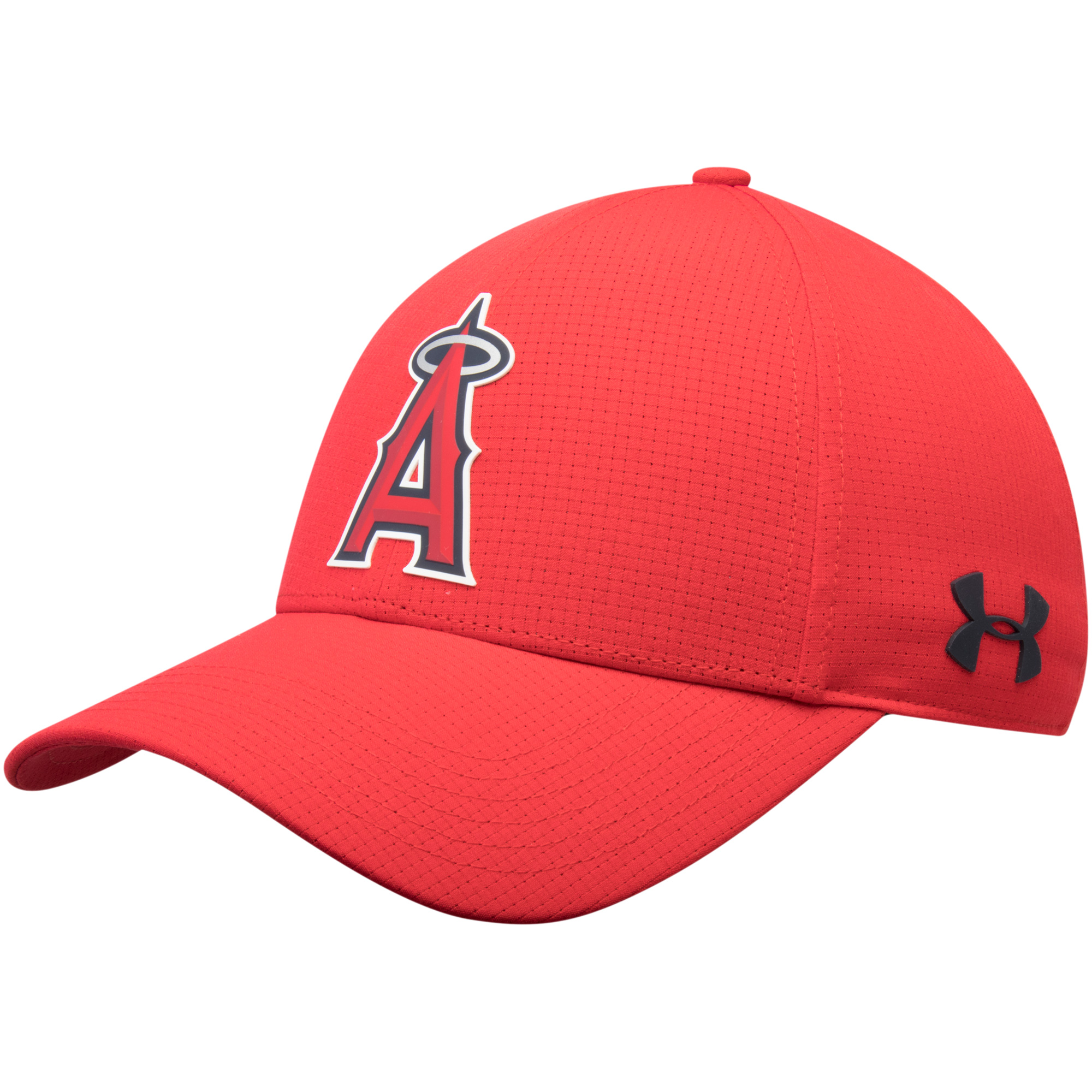 Los Angeles Angels Under Armour MLB Driver Cap 2.0 Adjustable Hat - Red - OSFA