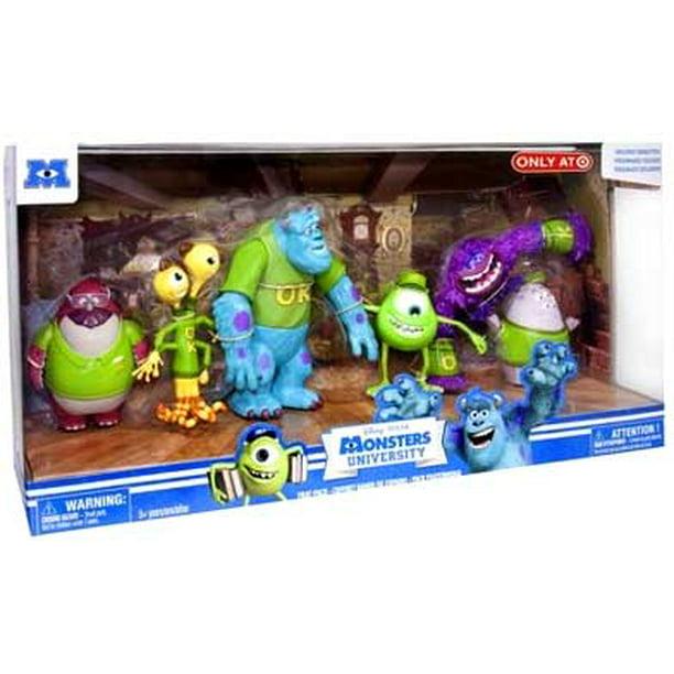 Disney Pixar Monsters University Frat Pack Figure Set Oozma Kappa Walmart Com Walmart Com